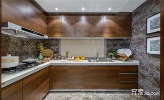 120平中式风格装修厨房构造图