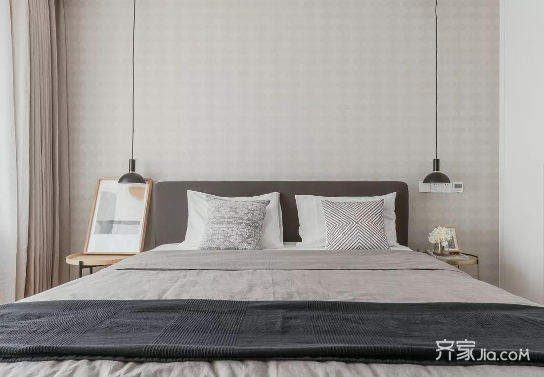 60平宜家风格装修卧室效果图