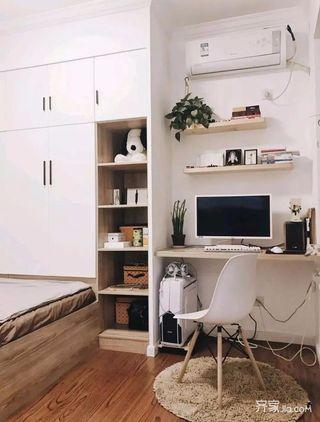 80平简约风之家书桌图片