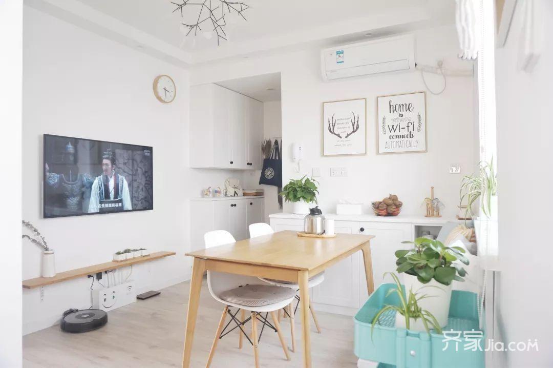 70m²宜家风格装修客厅欣赏图