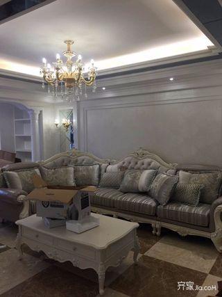 三居室欧式精装修沙发图片