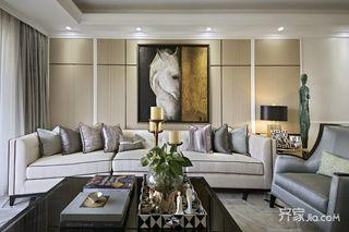 130平米三居室装修 优雅而随性