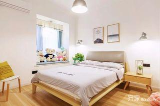 二居室简约风格装修卧室效果图