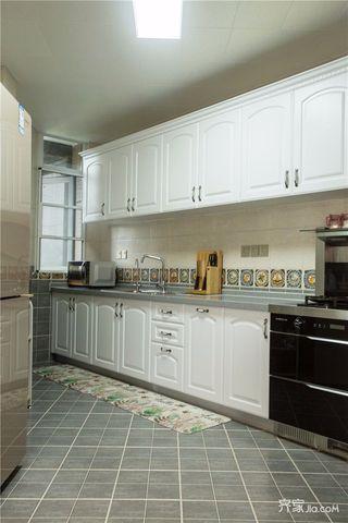 145平米法式风格四房装修厨房效果图