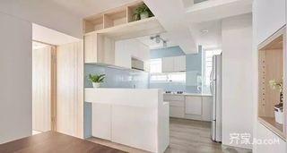 130㎡北欧风格三居室装修厨房设计图