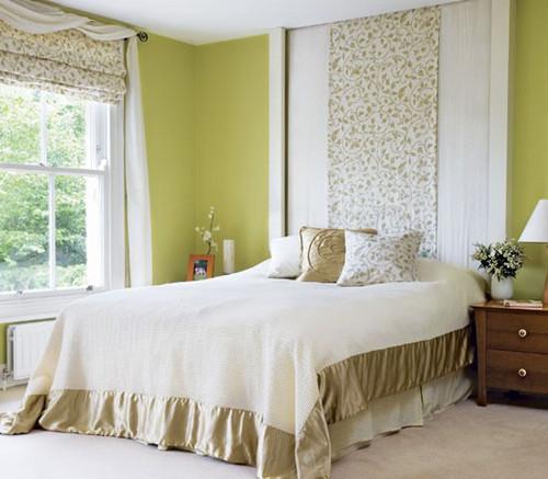 卧室窗帘盒效果图_卧室背景墙装饰效果图 带你感触异样的床头设计-家装空间