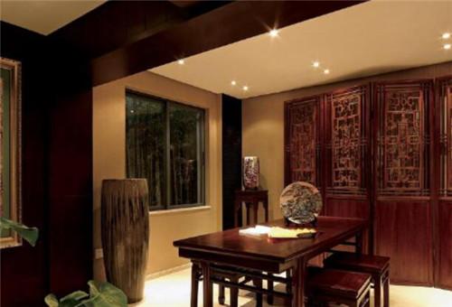 别墅中式装修效果图大全 将中式古典元素融入现代家装