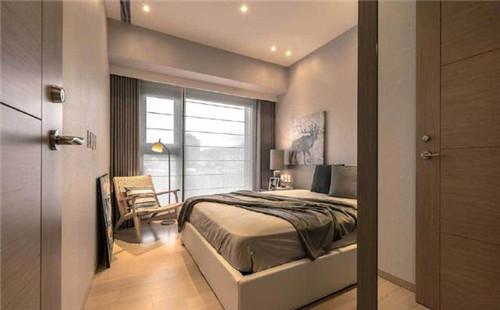 现代装修卧室效果图 59㎡现代装修怎么设计