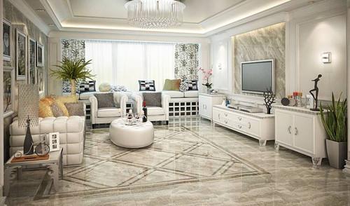 客厅瓷砖选什么颜色好