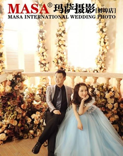 蚌埠婚纱摄影如何做出仿真花的高性价比婚纱摄影店