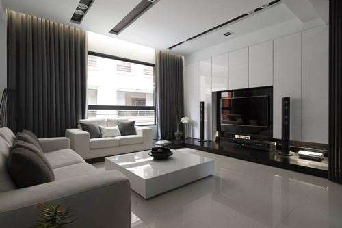 現代客廳裝飾有哪些技術,浴室價格現代客廳裝飾的注意事項