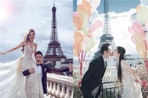 明星婚纱照片欣赏2018 明星婚纱照在哪拍的