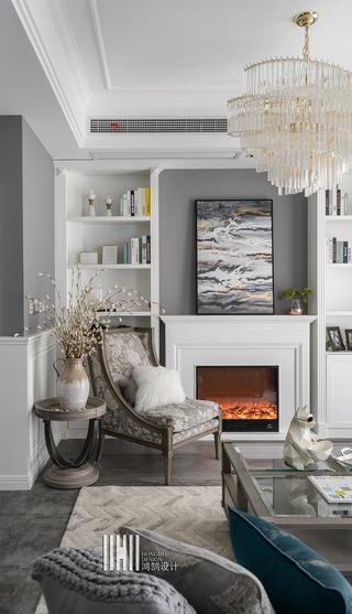 新美式别墅装修壁炉设计