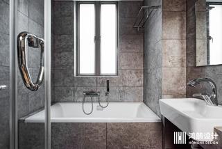 110㎡日式风格家浴缸图片