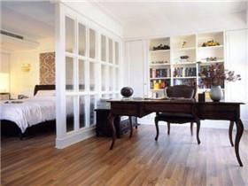 卧室书房硬隔断的优缺点 硬隔断和软隔断哪个好