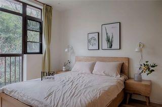 大户型日式北欧风卧室装修效果图