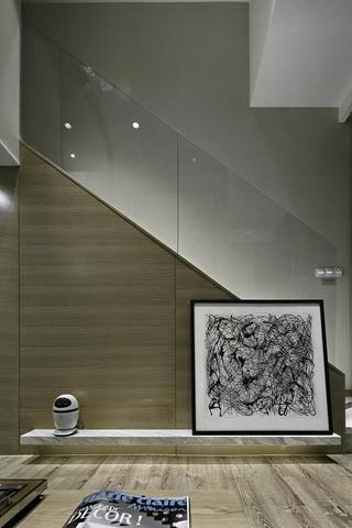 小户型北欧风公寓装修电视柜设计图