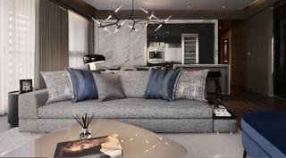 大户型现代风格家沙发图片