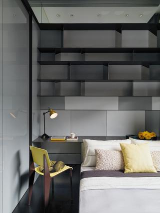 大户型现代风格装修卧室背景墙设计效果图
