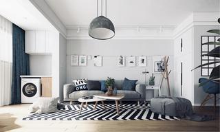 二居室北欧风格装修设计效果图
