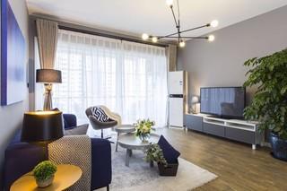 135平三居室装修设计效果图