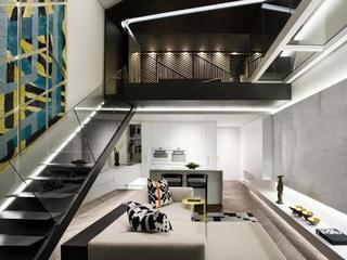 Loft风格公寓装修设计效果图