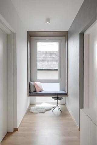 极简北欧风二居装修飘窗设计图