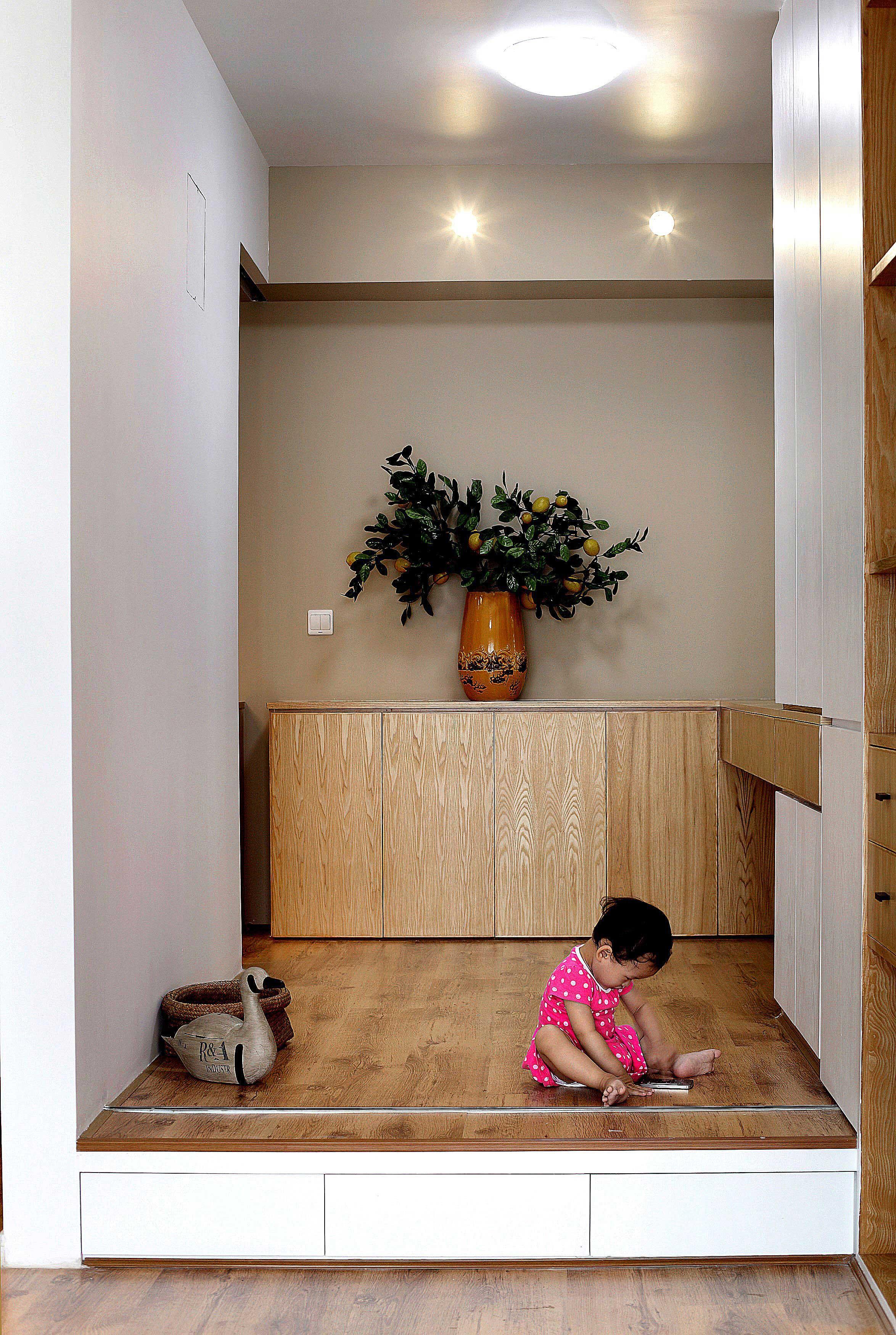 85平北欧风格两居休闲室装修效果图