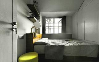 現代簡約三居室裝修飄窗設計圖