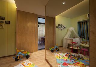 三居室现代风格儿童房装修效果图