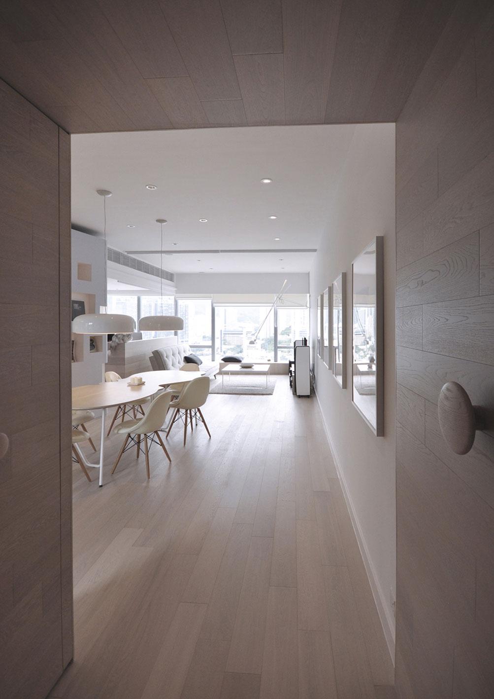 北欧简约风格一居室装修入户走道