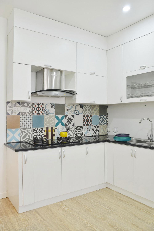 96㎡简约风格两居厨房装修效果图