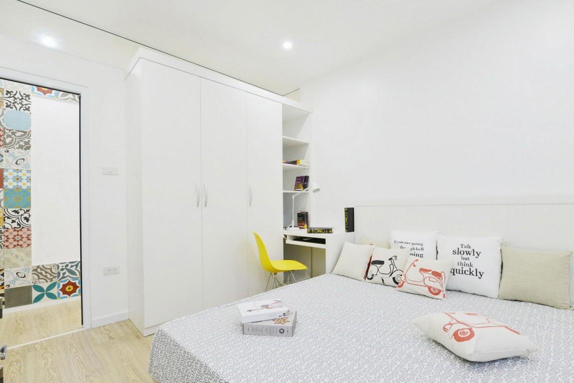 96㎡简约风格两居卧室装修效果图