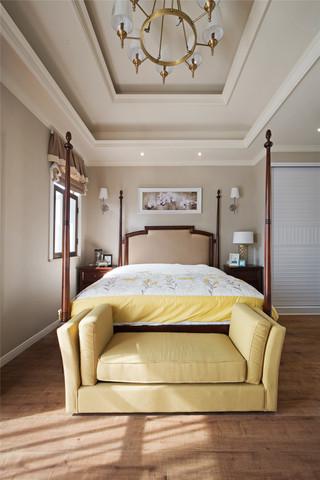350平米美式别墅卧室装修效果图