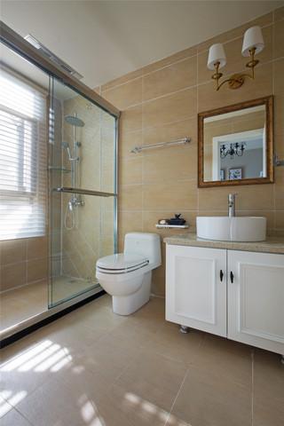 350平米美式别墅卫生间装修效果图