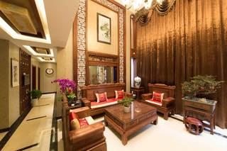 400平中式风格别墅装修效果图