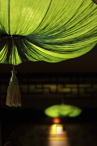 东南亚风格二居室装修装饰吊灯设计