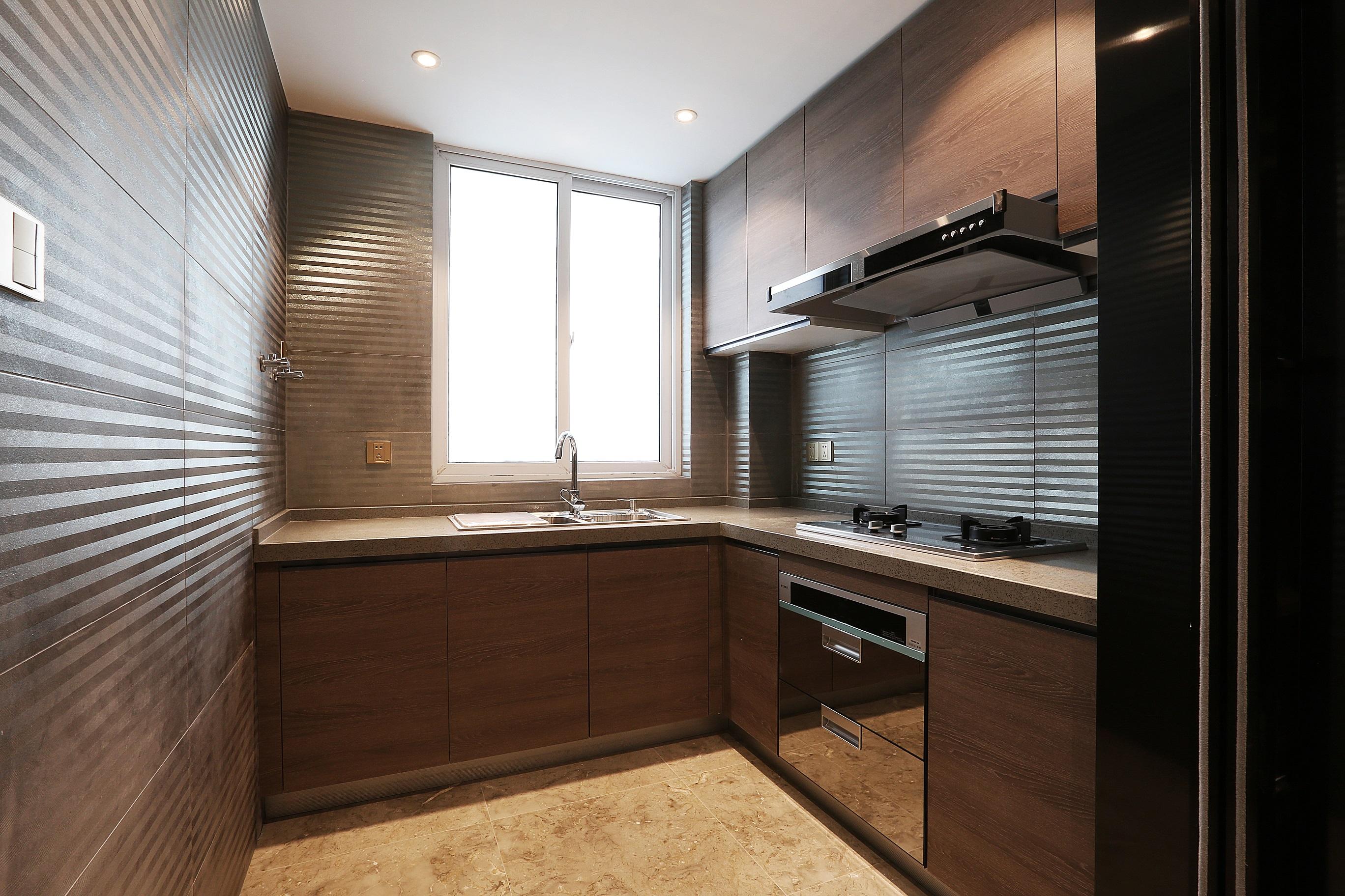 95平现代简约二居厨房装修效果