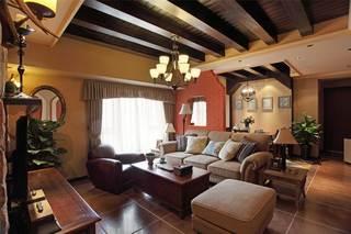 150平法式乡村风格客厅装修效果图