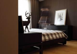 166平现代时尚三居卧室装修效果图