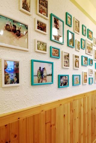 地中海混搭三居装修照片墙布置图