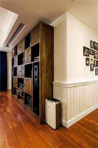 美式乡村风格三居装修照片墙布置图