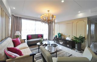 140平新中式四居室装修效果图