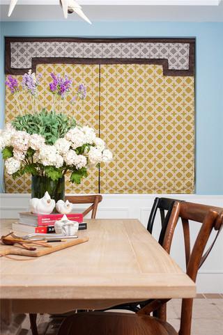 160㎡法式乡村风格装修窗帘设计图