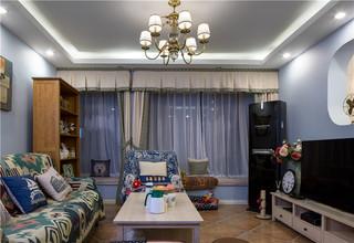 美?#20132;?#25645;风格二居室装修效果图