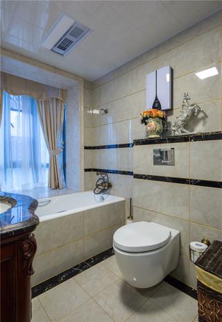 新古典美式风格别墅卫生间装修效果图