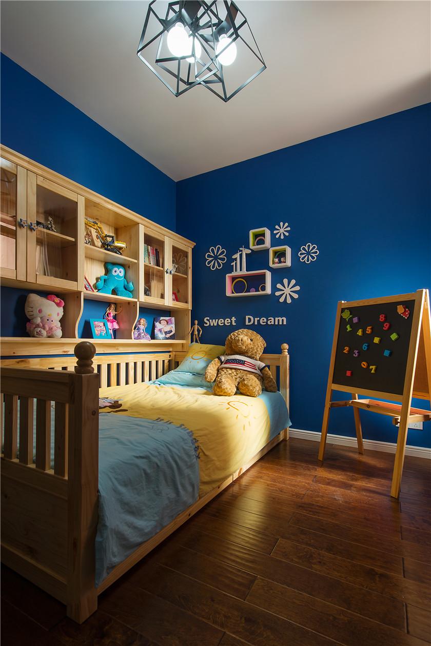 90㎡时尚混搭风二居儿童房装修效果图