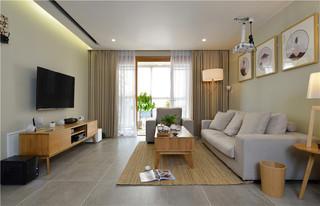 日式原木风三居装修设计效果图