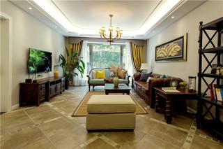 360平美式风格别墅装修效果图
