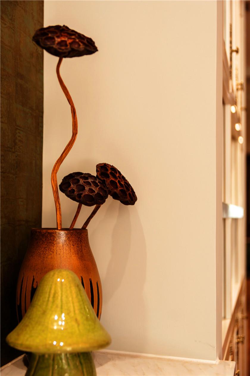 360平美式风格别墅装修装饰摆件特写